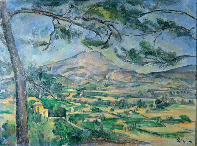 Sennelier und die Palette von Paul Cézanne 0
