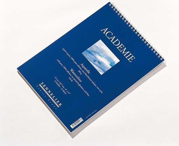 Aquarellblöcke Académie n138454-academie21x297spirale