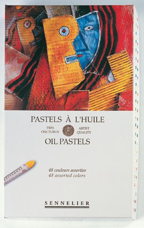 Oil pastel pad 0