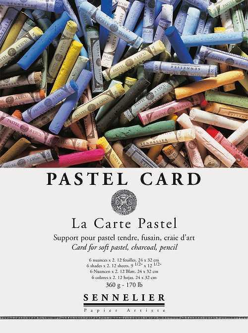 Pastel card in Bogen 0