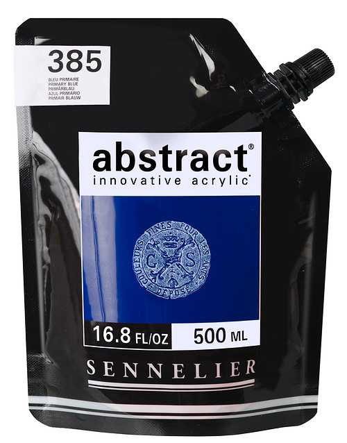 ABSTRACT ORIGINAL 385-abstract-bleuprimaire-500ml