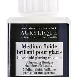 Glänzendes flüssiges Malmittel für Lasuren